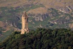 Monumento de Wallace, Stirling, Escocia fotografía de archivo