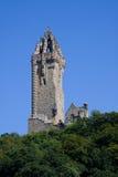 Monumento de Wallace, Stirling, Escocia fotos de archivo
