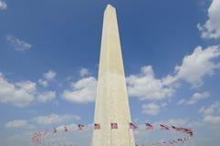 Monumento de Washington Fotos de archivo libres de regalías