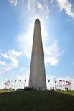 Monumento de Washington Fotos de Stock Royalty Free