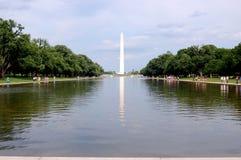 Monumento de Washington, C.C., los E.E.U.U. Imágenes de archivo libres de regalías
