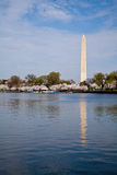 Monumento de Washington del Washington DC Foto de archivo