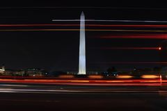 Monumento de Washington en Washington DC Imagenes de archivo