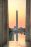 Monumento de Washington Memorial en Washington, DC Fotografía de archivo libre de regalías