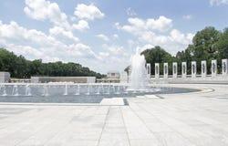Monumento de Washington y monumento de Lincoln Foto de archivo