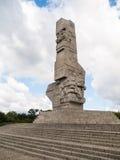 Monumento de Westerplatte Imagem de Stock Royalty Free