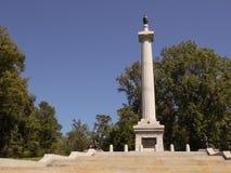 Monumento de Wisconsin de Vicksburg fotos de archivo libres de regalías