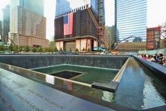 Monumento de WTC 9-11 Foto de archivo
