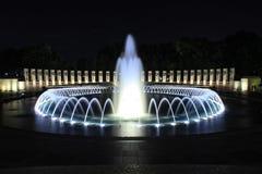 Monumento de WWII en Washington DC Imágenes de archivo libres de regalías