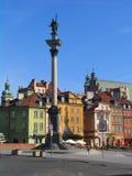 Monumento de Zygmunt III Waza Imagen de archivo libre de regalías