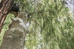Monumento dedicado al poeta Gustavo Adolfo Bcquer en Sevilla Imagen de archivo libre de regalías