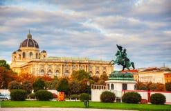 Monumento dedicado ao Archduke Charles de Áustria Imagens de Stock
