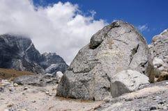 Monumento degli scalatori russi alle vittime su Everest Nepal, Himalaya Fotografie Stock