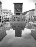 Monumento dei marinai a Bergen, Norvegia Immagini Stock Libere da Diritti
