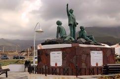 Monumento dei poeti (Monumento un los Poetas) Immagini Stock Libere da Diritti