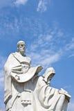 Monumento dei san Cyril e Methodius fotografia stock