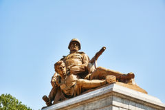 Monumento dei soldati Immagine Stock