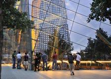 Monumento del 11 de septiembre Fotografía de archivo libre de regalías