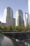 Monumento del 11 de septiembre Imagen de archivo libre de regalías