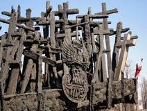 Monumento del assassinato nell'est Fotografia Stock Libera da Diritti