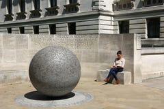 Monumento del attentado terrorista Foto de archivo libre de regalías