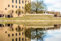 Monumento del bombardeo del Oklahoma City Imagen de archivo libre de regalías
