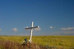 Monumento del borde de la carretera Foto de archivo libre de regalías