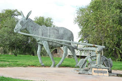 Monumento del burro Foto de archivo libre de regalías