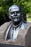 Monumento del busto di Lenin Immagini Stock