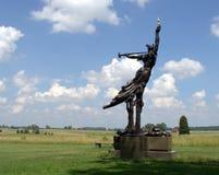 Monumento del campo de batalla de Gettysburg Imagen de archivo libre de regalías
