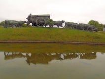 Monumento del carreta del La Fotografía de archivo