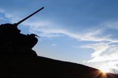Monumento del carro armato Fotografia Stock