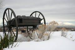 Monumento del carro de la mano Foto de archivo libre de regalías