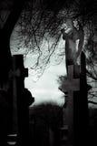 Monumento del cementerio Imágenes de archivo libres de regalías
