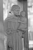 Monumento del cementerio fotografía de archivo