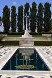 Monumento del cementerio de la guerra Fotos de archivo libres de regalías