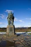 Monumento del commando Fotografie Stock