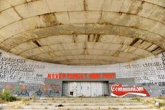 Monumento del comunista de Buzludzha fotografía de archivo
