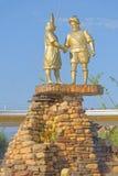 Monumento del conquistador, tarapoto imagen de archivo libre de regalías