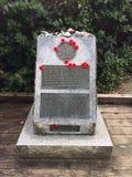 Monumento del día de la conmemoración Imagenes de archivo
