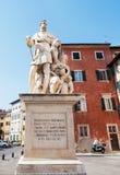 Monumento del de' Medici di Ferninando a Pisa Fotografie Stock Libere da Diritti