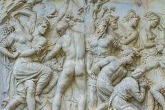 Monumento del delle Bande Nere de Juan en Florencia Imagen de archivo