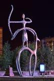 Monumento del diseño original en Astaná, Kazajistán Imágenes de archivo libres de regalías