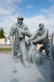 Monumento del frammento ai pompieri morti Fotografia Stock
