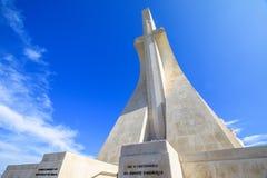 Monumento del Gama y de los descubrimientos de Vasco DA Foto de archivo