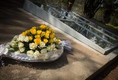 Monumento del genocidio en Kigali, Rwanda foto de archivo