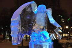 Monumento del ghiaccio Immagini Stock