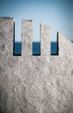 Monumento del granito ad aria svizzera 111 fotografia stock libera da diritti