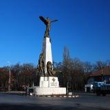 Monumento del héroe de los aviadores Imagen de archivo