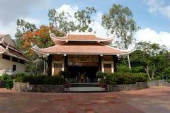 Monumento del héroe en el parque de Tho Trang, Vietnam Imágenes de archivo libres de regalías